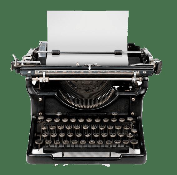 punkt.und.beistrich - Schreibmaschine
